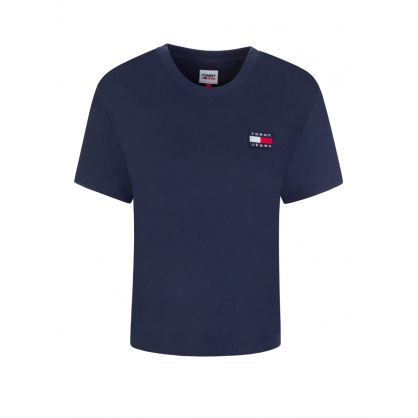 Navy Badge T-Shirt