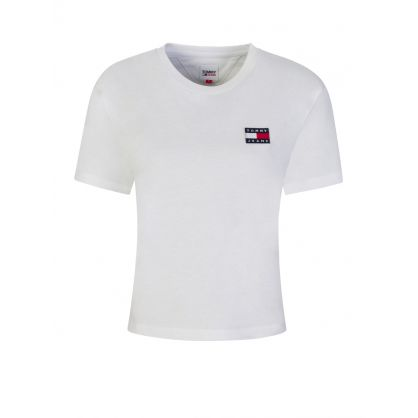 White Flag Logo Badge T-Shirt