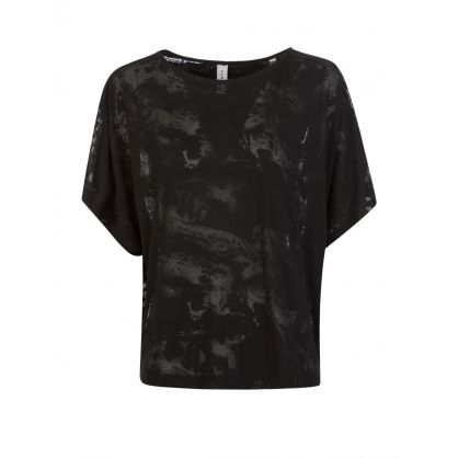 Black Almo Sheer T-Shirt