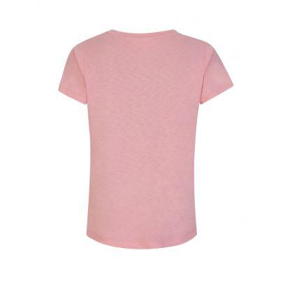 Pink Jill V-Neck T-Shirt