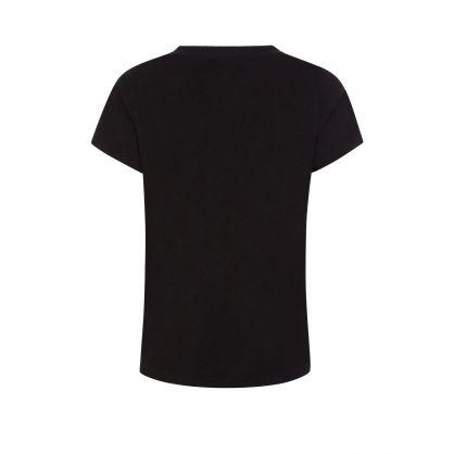 Black Jill V-Neck T-Shirt