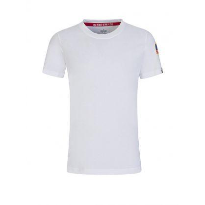 Kids White NASA Logo T-Shirt
