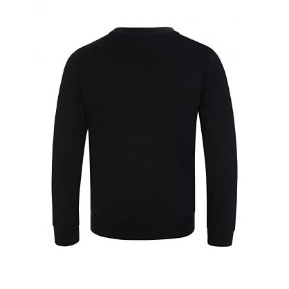 Kids Black Monogram Sweatshirt