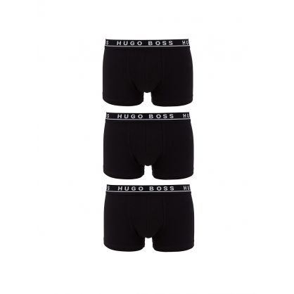 Black Boxer Shorts Bodywear 3-Pack
