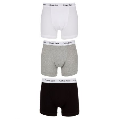 Black/White/Grey Trunk Boxers 3-Pack