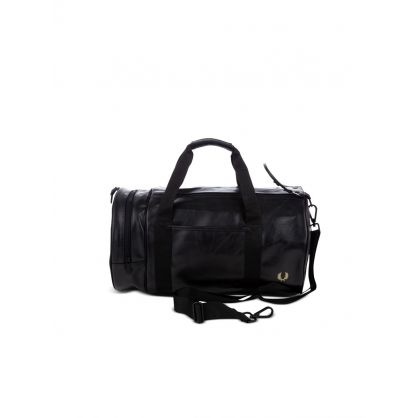 Black Tonal-Coloured Barrel Bag