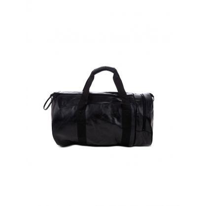 Black Tonal-Coloured Barrel Bag