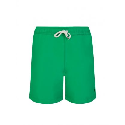 Kids Green Traveler Swim Shorts