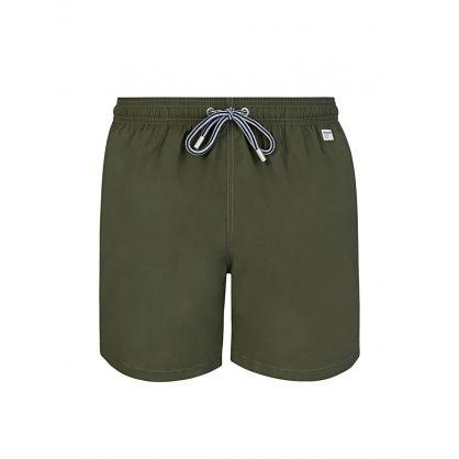 Green Pantone Swim Shorts