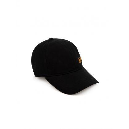 Black Drill Peak Cap