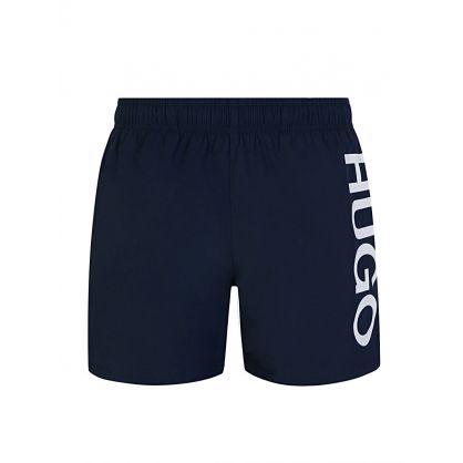 Navy Abas Swim Shorts