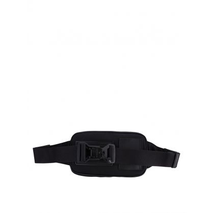 Black Aude Logo Waist Bag