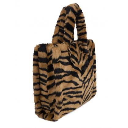 Brown Tiger-Print Lolita Bag