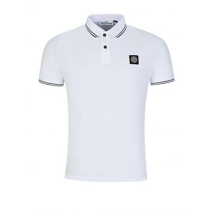 White Tipped Polo Shirt