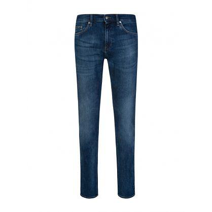 Navy Blue Delaware Slim-Fit Jeans