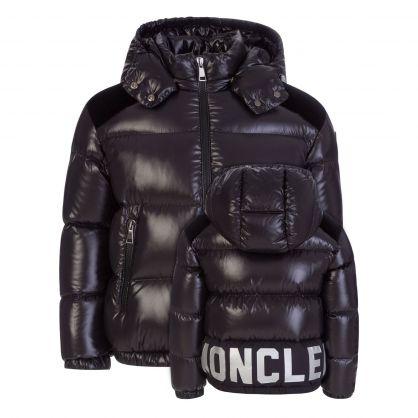 Black Chouelle Down Coat
