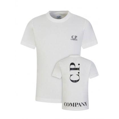 Cream Logo T-Shirt