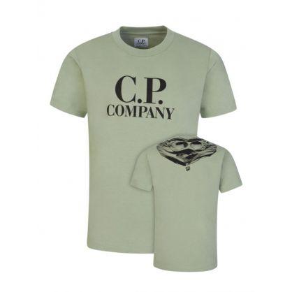 Green Goggle Logo T-Shirt