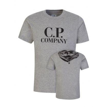 Grey Goggle Logo T-Shirt