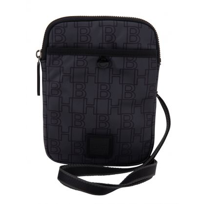 Charcoal Nylon Pixel Mini Bag