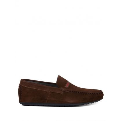 Brown Dandy Moccasins Shoes