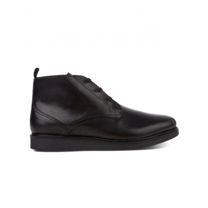 Black Leather Calverston Chukka Boots