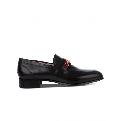 Black Orb Loafers