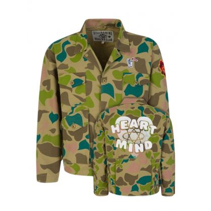Camo All-Over Print Field Jacket