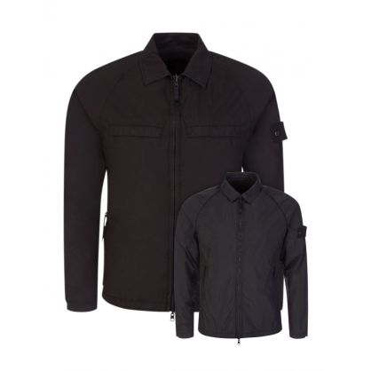 Black Ghost Piece Reversible Overshirt