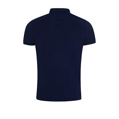 Navy Custom Slim Fit Polo Shirt