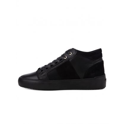 Black Propulsion Mid Geo Trainers