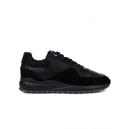 Black Santa Monica Trainers