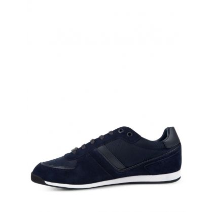 Navy Low-Top Maze Trainers