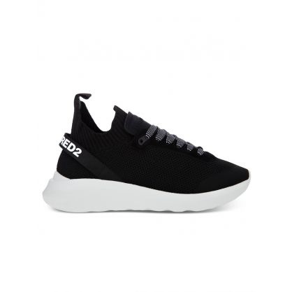 Black Mesh + Neoprene Runner Trainers
