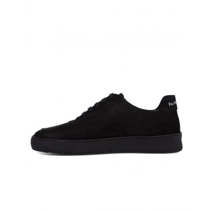 Black Nubuck Mondo 2.0 Ripple Trainers