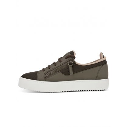 Brown Low-Top Ellis Trainers