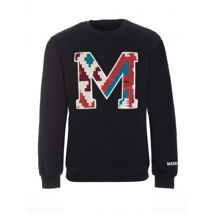 Black Organic Cotton MA20 Sweatshirt
