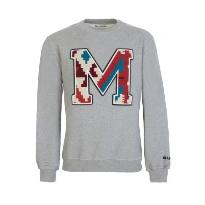 Grey Organic Cotton MA20 Sweatshirt