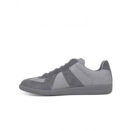 Grey Replica Trainers