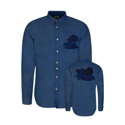 Blue Chilean Landscape Shirt