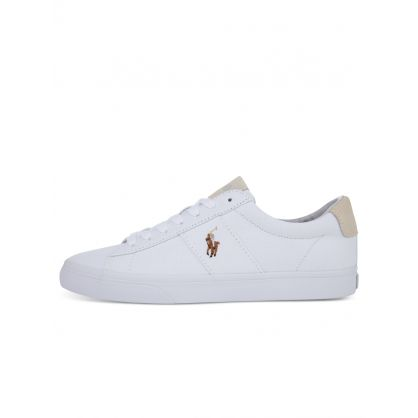 White Sayer Canvas Trainers