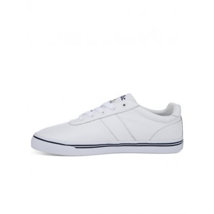 White Leather Hanford Trainers