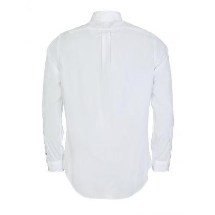 White Slim Oxford Shirt