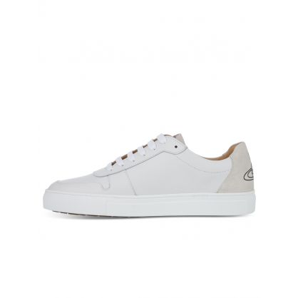 White Leather Apollo Trainers