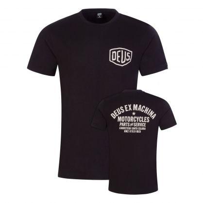 Black Ibiza Address T-Shirt