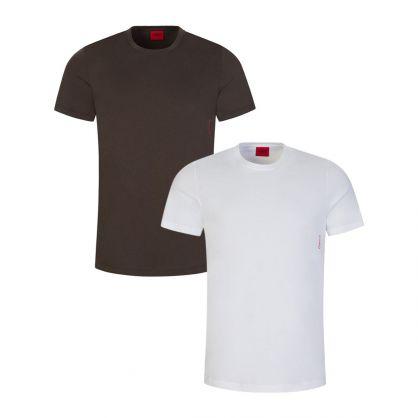 Dark Green T-Shirts Twin Pack