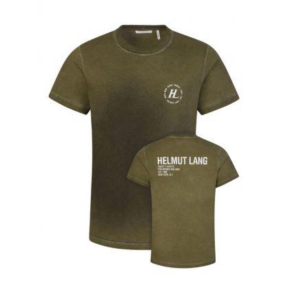 Green Sprayed T-Shirt
