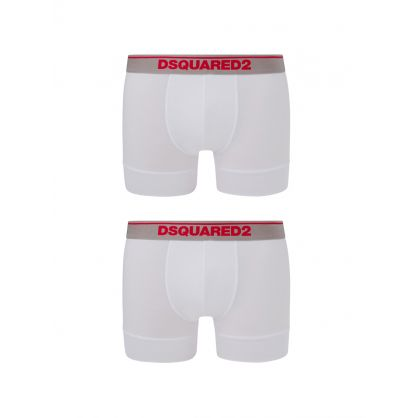 White Trunks 2-Pack
