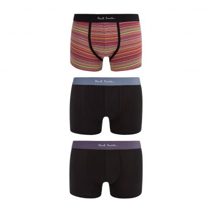 5 Pack Cotton Stretch Trunks