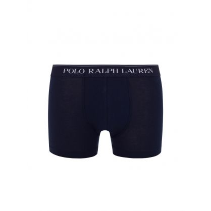 3-Pack Navy Classic Cotton Trunks 3-Pack